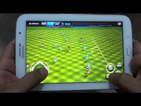 SAMSUNG GALAXY NOTE 8 FIFA 14 GAMEPLAY WITH FPS METER