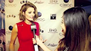 "Stana Katic Talks Life On Set of CBGB and ""Castle"" Engagement/Wedding Spoiler!"