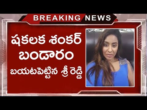 Sri Reddy Shocking Comments on Shakalaka Shankar | Latest Celebrity Updates | Tollywood Nagar