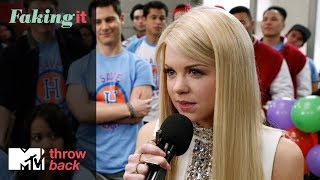 'Lauren's Hester Speech' 🎤Official Throwback Clip | Faking It | MTV