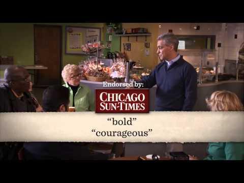 Mayor Rahm Emanuel ad with Obama