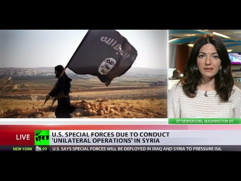 US deploys special forces to boost fight against ISIS in Iraq, Syria