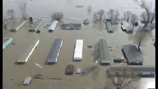 Entire Towns Under Water In Nebraska, Hundreds Rescued After Powerful Cyclone