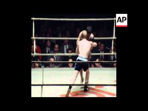 SYND 19 2 78 HIGHLIGHTS OF EUROPE LIGHTWEIGHT CHAMPS WON BY WATT