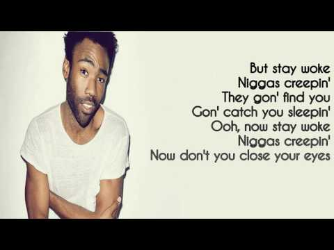 Redbone Childish Gambino (Lyrics)
