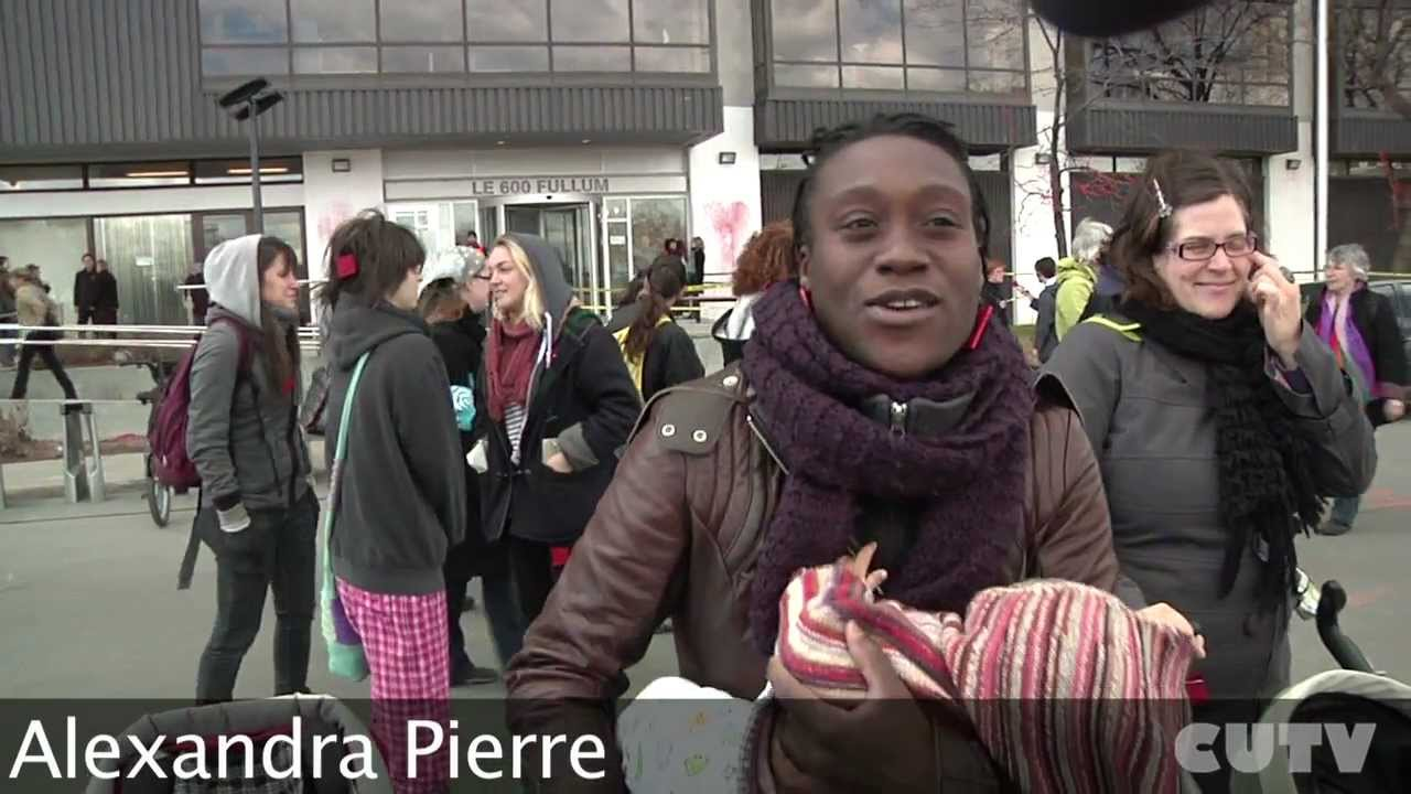 Marche mondiale des femmes - manif contre la hausse 12 avril 2012.mp4
