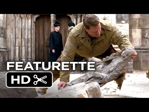 The Monuments Men Featurette - The Last Original Monuments (2014) - George Clooney Movie HD
