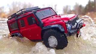 RC Cars OFF Road ICE Water SPA — Jeep Cherokee Axial SCX10 ii, Hummer H2, Traxxas TRX4 Land Rover
