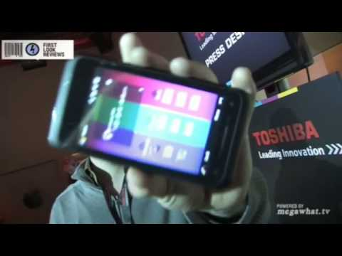 First Look Reviews: Toshiba TG01 Touchscreen Mobile Phone