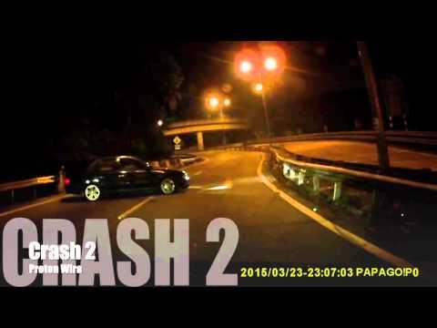 On Board Crash Compilation - Genting Highland touge