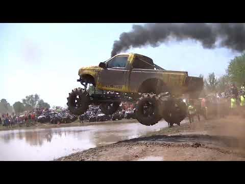 Part 3 Trucks Gone Wild 2014 at Louisiana Mudfest in Colfax, LA