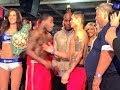 Adrien Broner vs Marcos Maidana WEIGH IN Gets Heated!