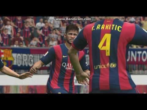 PES 15 : FC Barcelona VS Manchester United F.C. PART 2