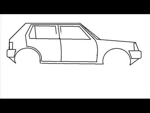Comment dessiner une voiture youtube - Dessiner une voiture facile ...