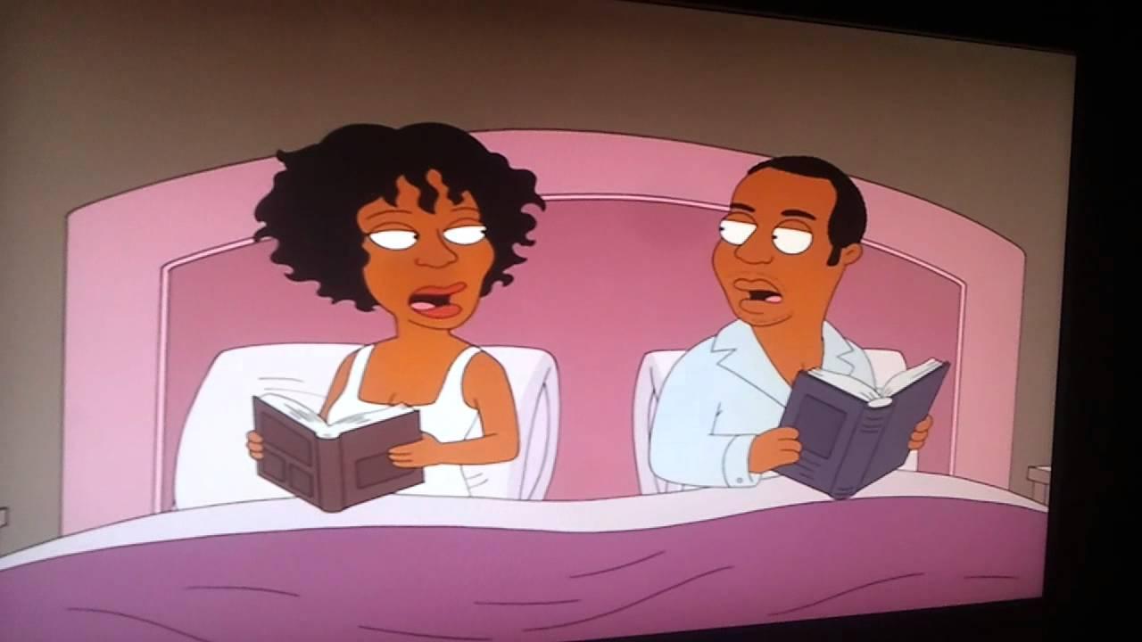 Brown Houston Family Family Guy Whitney Houston