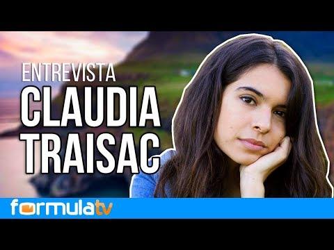 Claudia Traisac ('Vivir sin permiso') confiesa que quiso presentarse a 'Lluvia de estrellas'