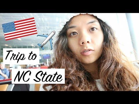 [VLOG] Trip to NC State US!! เดินทางไป North Carolina อเมริกากัน!! (ซับไทย)
