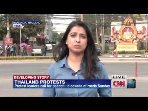 Thailand protests target election on Sunday