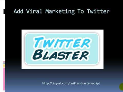 Twitter Blaster Pro