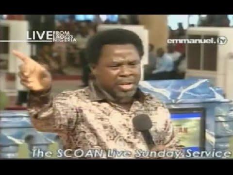 Scoan 07 09 14: (part 2 2) Tb Joshua At The Altar, Mass Prayer. Emmanuel Tv video