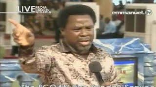 SCOAN 07/09/14: (Part 2/2) TB Joshua At The Altar, Mass Prayer. Emmanuel TV