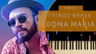 download musica Como tocar Dona Maria do Thiago Brava ft Jorge Piano e Teclado Fácil 1 Tutorial