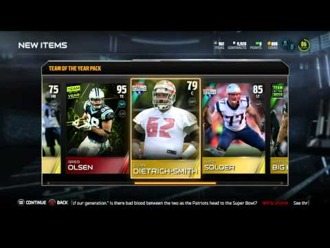 Madden 15 Ultimate Team-Amazing Luck? 1MILLION Coin Profit! TOTY Bundle Opening!-XBOX ONE Madden MUT