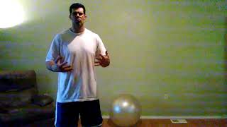 "Kang Squat Thrusters, complete Core workout. Also commentary about""giving authority""to life."