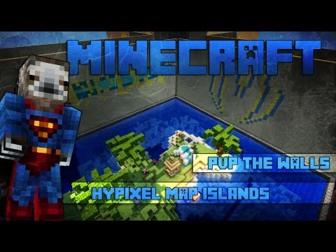 Minecraft The Walls Hypixel Server Islands [GOEDGEKEURD]