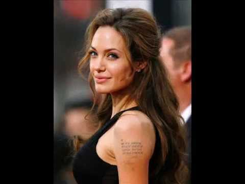 Gorgeous Angelina Jolie - Solo Photos video