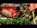 Pasang Radiator Oli Mesin Honda, Biar adem, Oil Cooller Engine C100