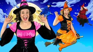 Witches on Halloween - Kids Halloween Song 🎃
