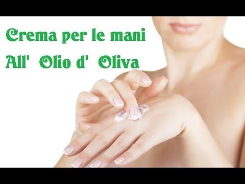 Crema per le mani all'olio d'oliva – Fai da te