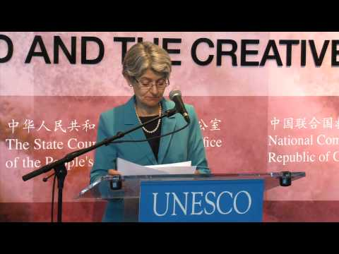 Vice Prime Minister of CHINA at UNESCO