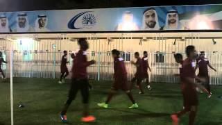 معسكر نادي الفيصلي السعودي بالأمارات 10-01-2015