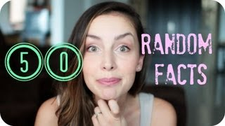 50 Random Facts About Me | AmandaMuse