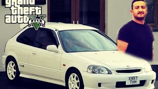 GTA 5 - Honda Civic Type-R Modu HD