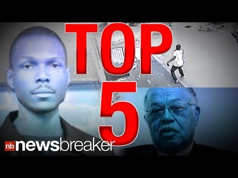 NEW: Top 5 Newsbreaker Stories ReTweeted Monday, May 13, 2013