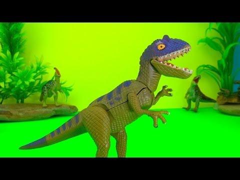 Fighting Dinosaurs Battle -  Watch the Fun Ending Dinosaur Battle Fight