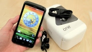 HTC One X Unboxing + Hands-On Demo