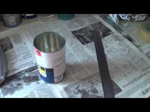 Вязкость краски для краскопульта своими руками