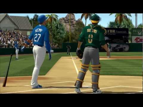 Matt Kemp Los Angeles Dodgers MLB 2K12
