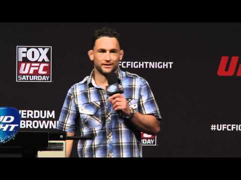 UFC on FOX 11: Fight Club Q&A with Frankie Edgar
