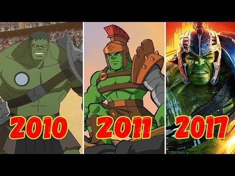 Эволюция Халка Гладиатора (2010-2017)
