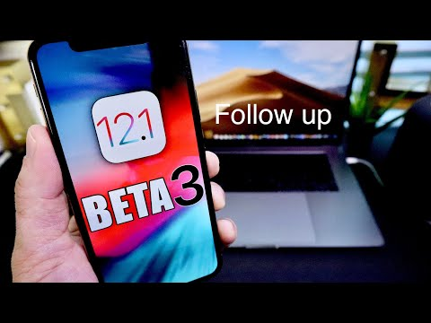 iOS 12.1 Beta 3 Follow up