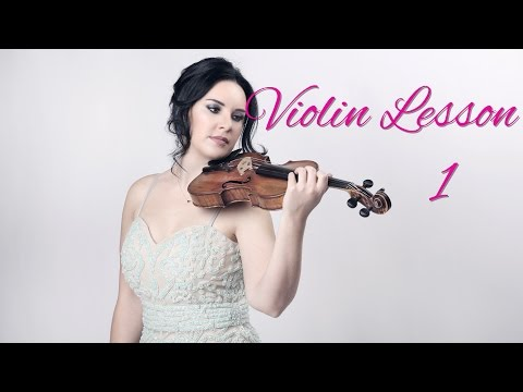 'OFFICIAL' How to Play the VIOLIN - Lesson 1 - How to hold the violin & bow correctly
