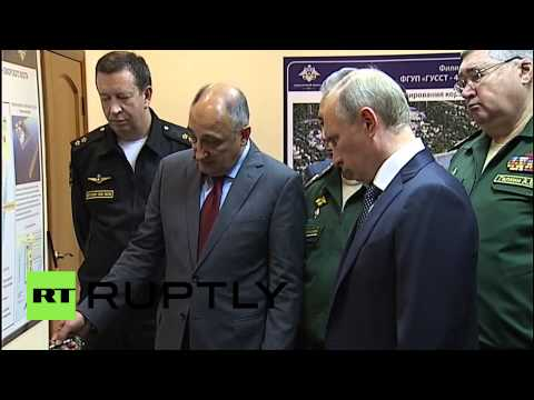 Russia: Putin discusses future of Novorossiysk naval base