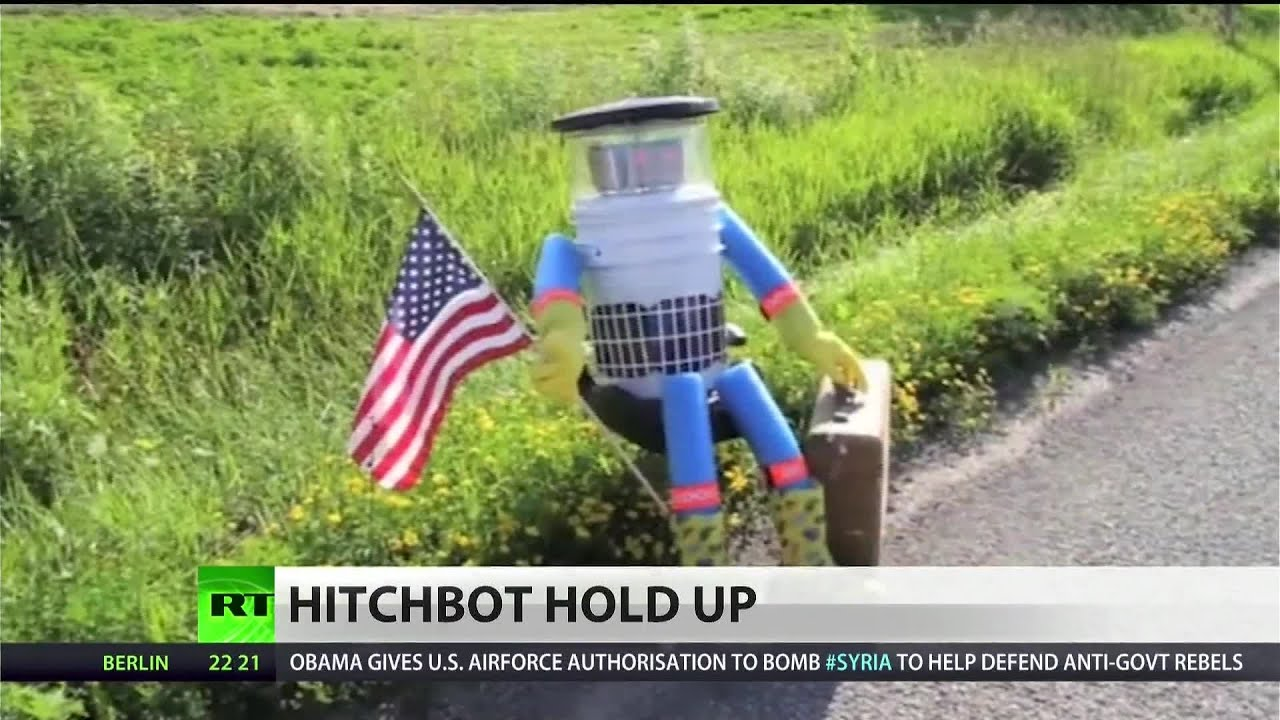 'Hitchbot' trip gets cut short in Philly