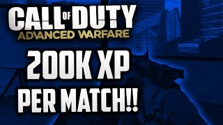 "Call Of Duty Advanced Warfare : ""How To Level Up Fast & Easy"" (Best Level Up Method)"