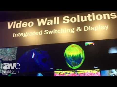 ISE 2017: RGB Spectrum Exhibits Video Wall Solutions